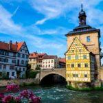 Город Бамьерг в Германии
