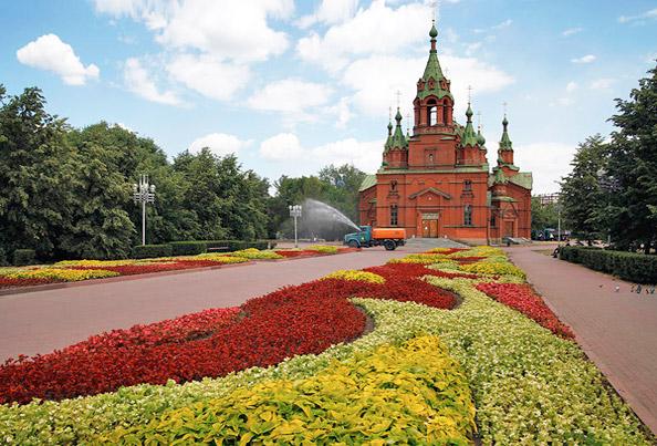 Челябинск, Сквер Алое поле