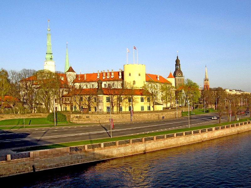 Рижский замок, Рига, Латвия