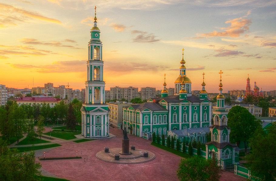 Спасо-Преображенский собор в Тамбове