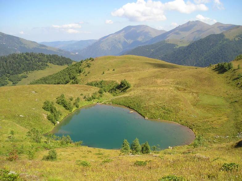 Озеро Любви в Тебердинском заповеднике