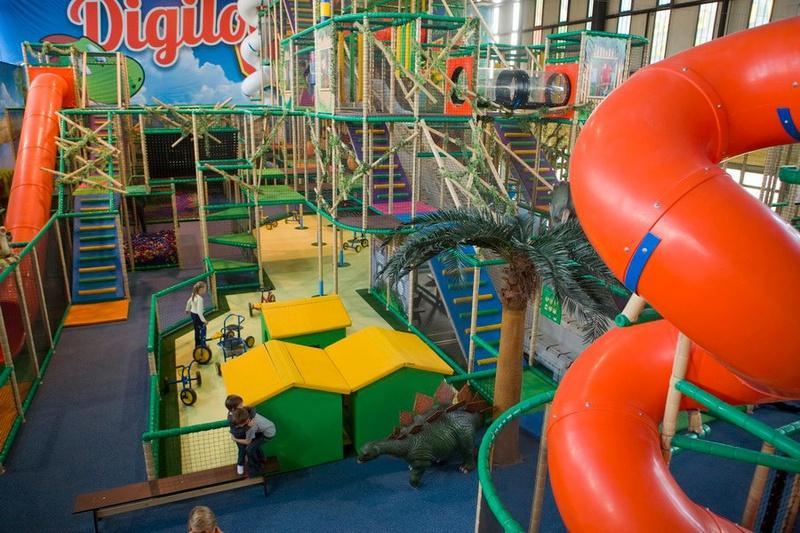 """Детский """"Fun Park Digiloo"""" в Варшаве"""