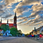 Город Белосток в Польше