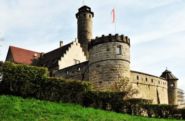 Крепость Альтенбург, Бамберг, Германия