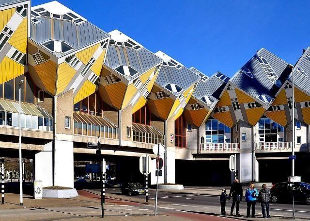 Кубические дома Роттердама