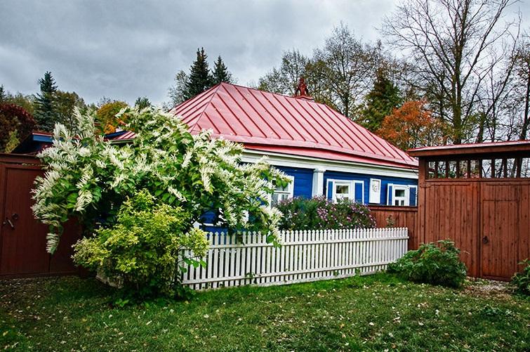 Дом-музей Константина Паустовского в Тарусе