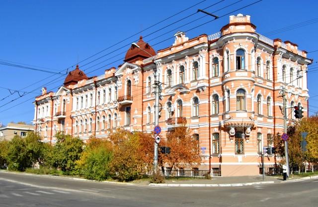 Шумовский дворец в г. Чита