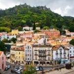 Город Синтра в Португалии