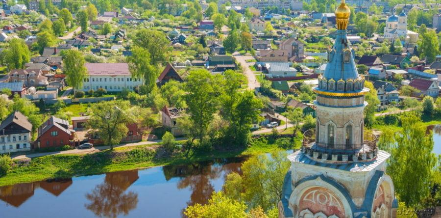 Торжок – древний город на реке Тверец