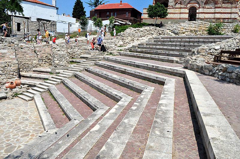 Несебр, Старинный амфитеатр