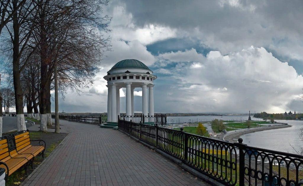 Набережная Волги в Ярославле