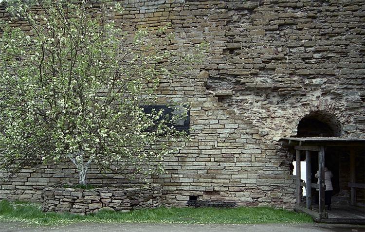 Стена Казни в крепости Орешек