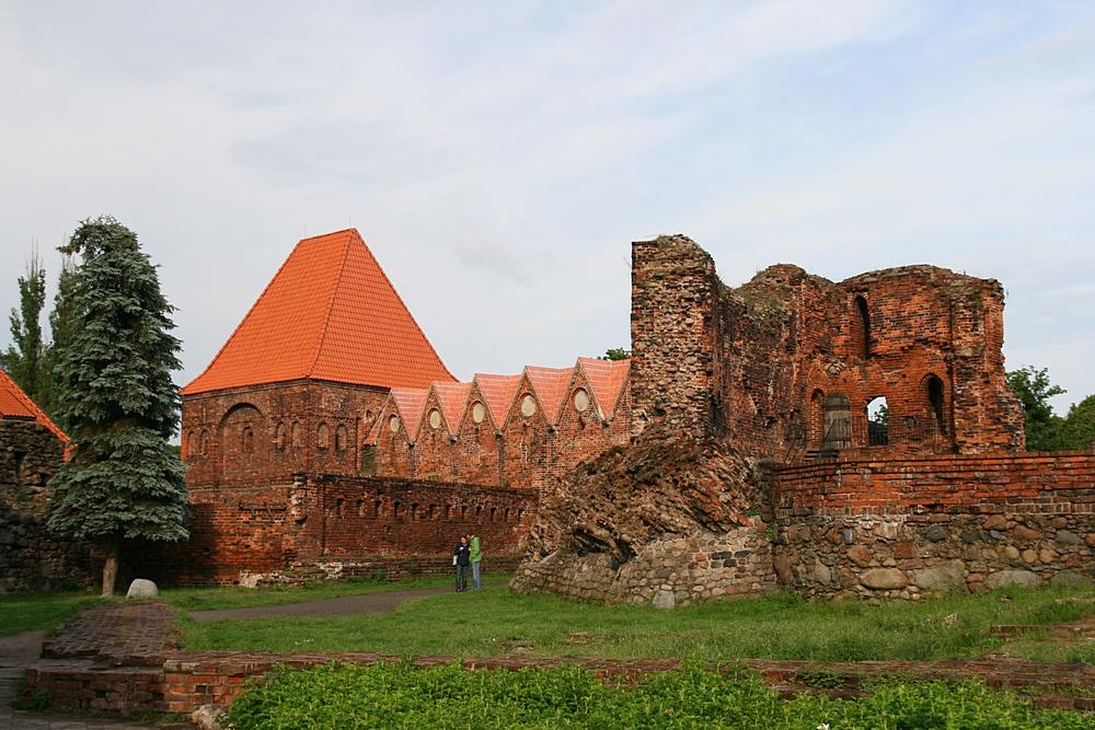 Тевтонский замок Торуни