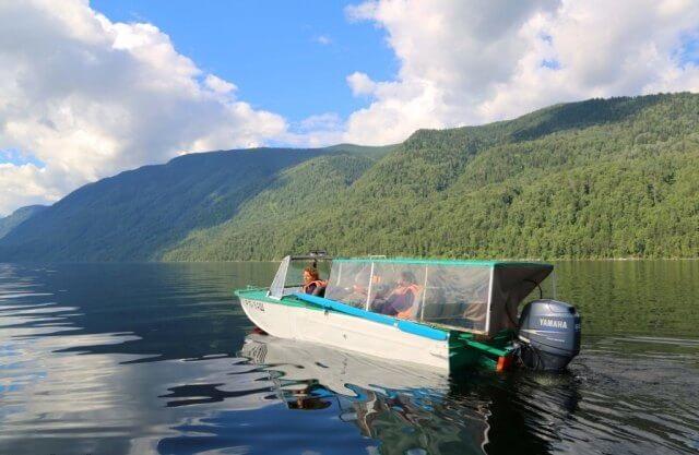 Водная экскурсия по Телецкому озеру, Алтай