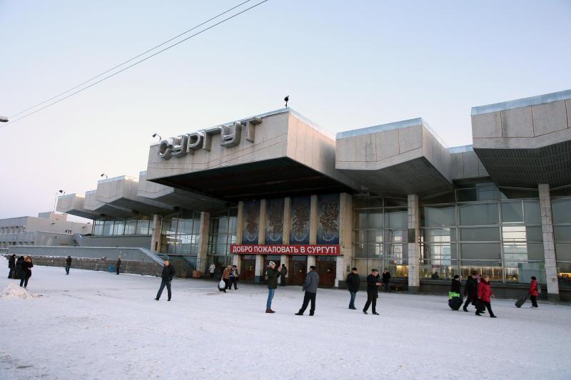 Железнодорожный вокзал Сургута