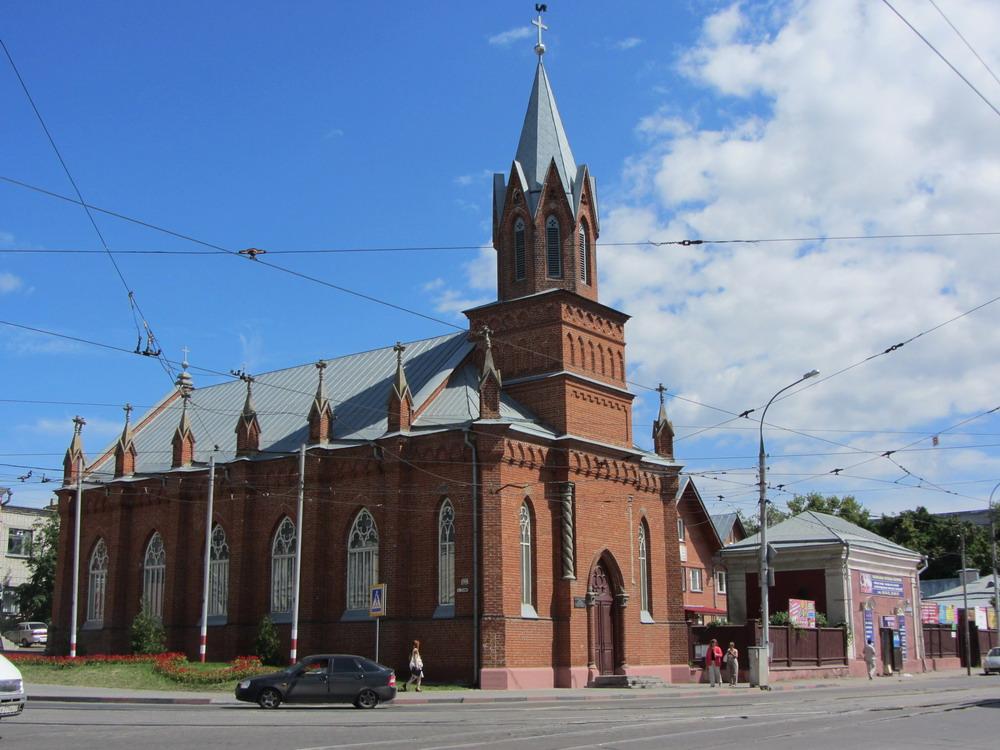 Лютеранская церковь Святой Марии в Ульяновске