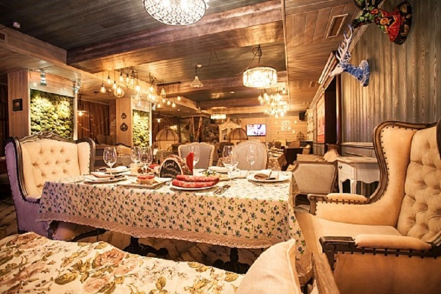 """Сургут, Ресторан """"Клюква"""""""