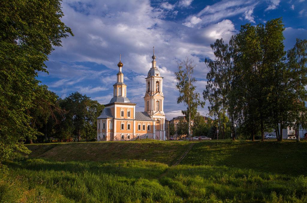 Храм Казанской Божьей матери в городе Углич