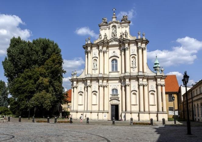 Католическая церковь Святого Иосифа в Варшаве