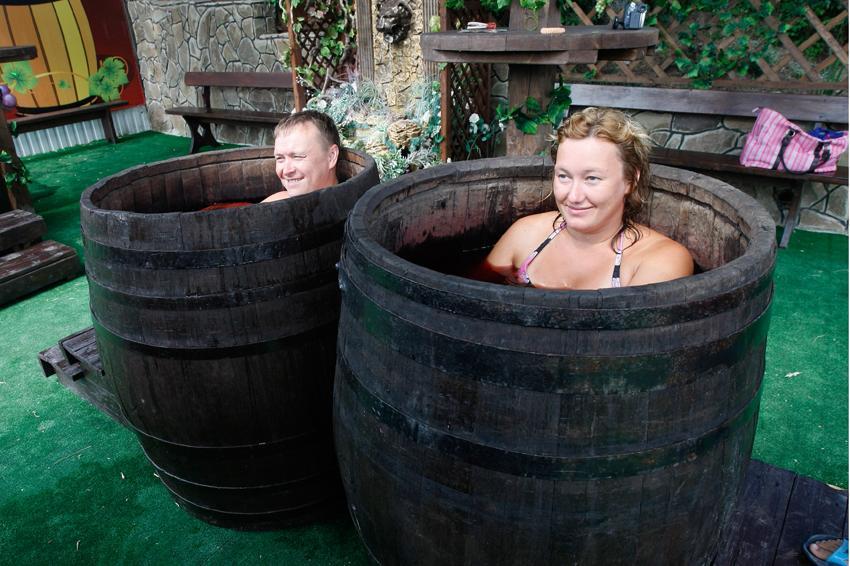 Винные СПА-ванны в Темрюке