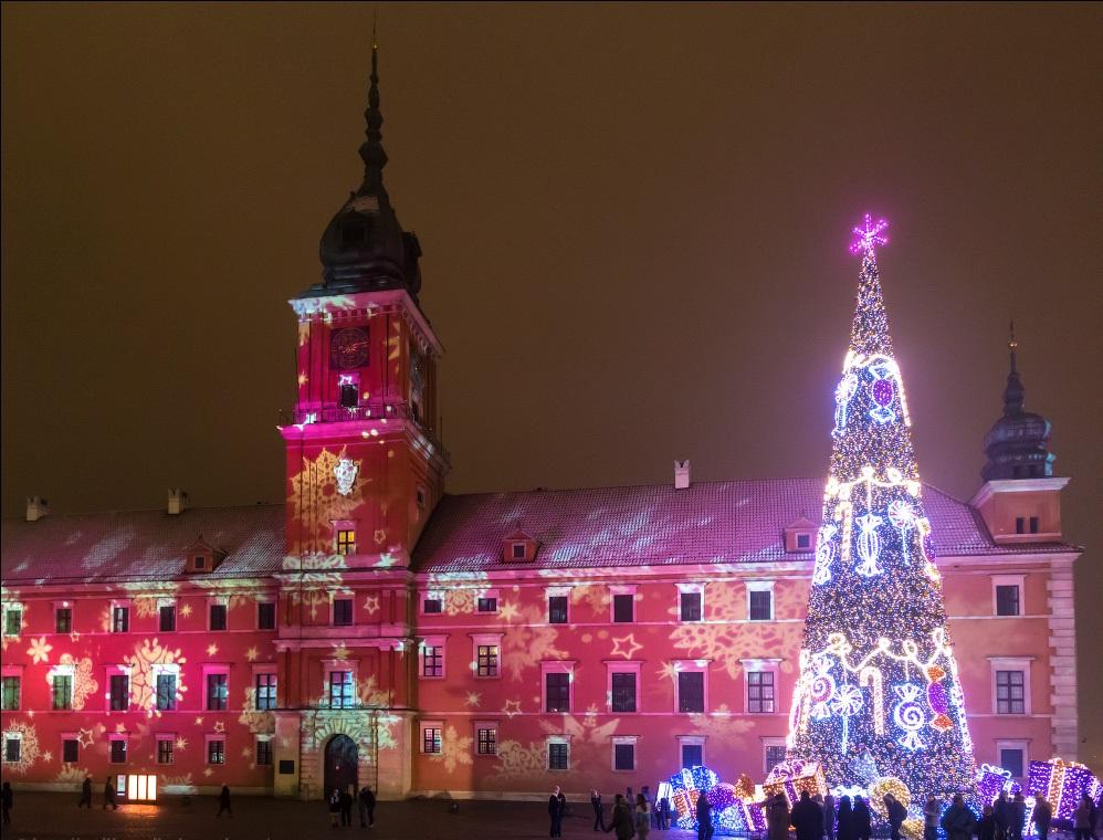 Зимний королевский дворец Варшавы