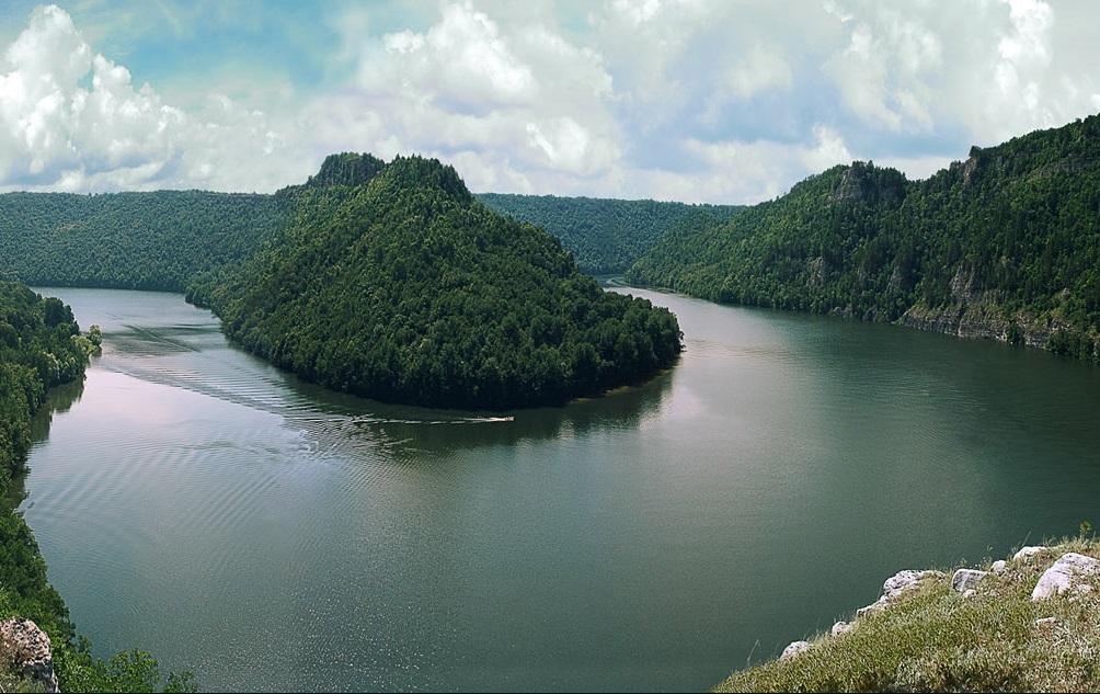 Нугушское водохранилище близ Уфы