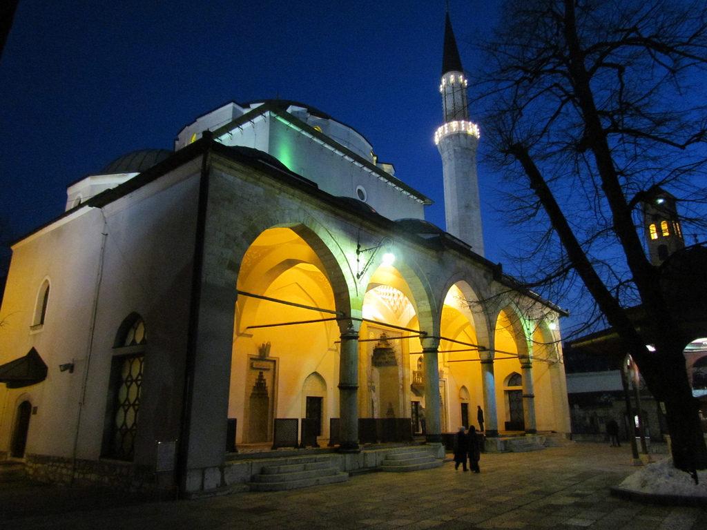 Мечеть Гази Хусрев-бега ( Бегова-Джамия) в Сараево