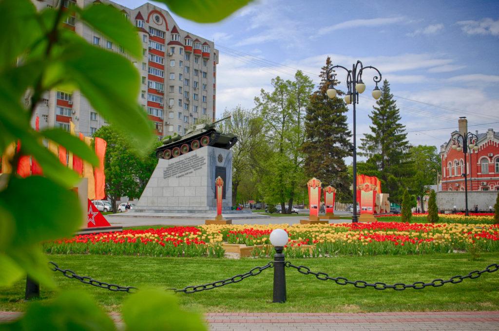 """Мемориал """"Тамбовский колхозник"""", г.Тамбов"""