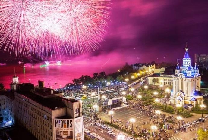 День города в Хабаровске