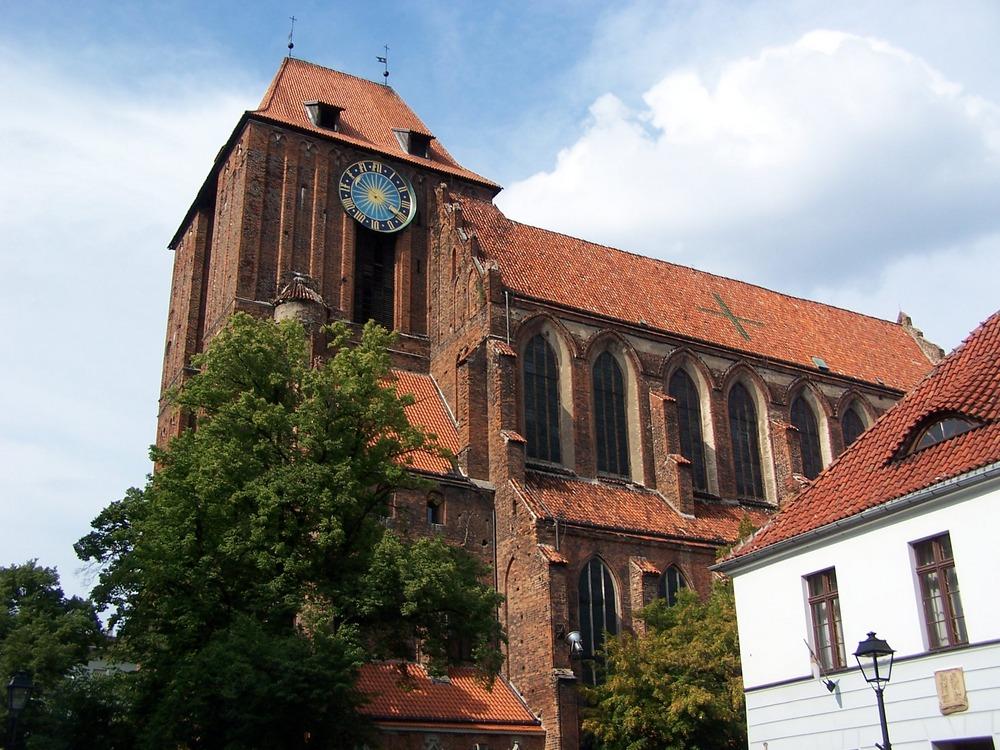 Кафедральный костел Иоанна Крестителя и Иоанна Богослова в Торуни