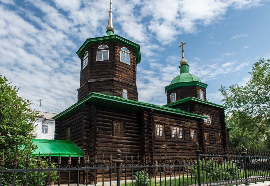 Церковь Декабристов в Чите