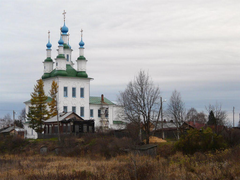 Церковь Троицы в Зеленской (Рыбацкой) слободе