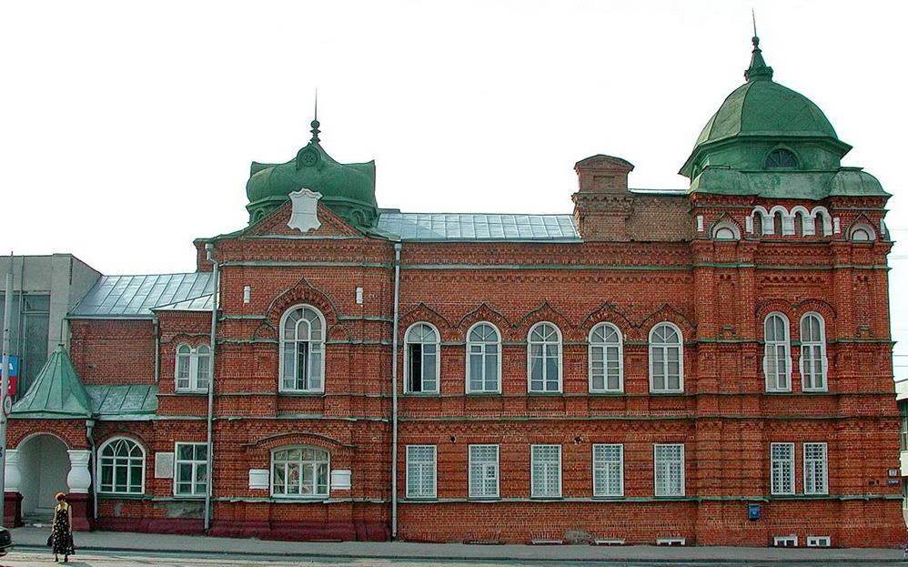 Дом уездного земства в Ульяновске