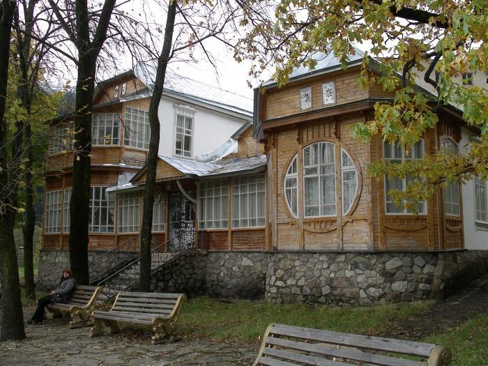 Дом-музей Ислама Крымшамхалова в Теберде