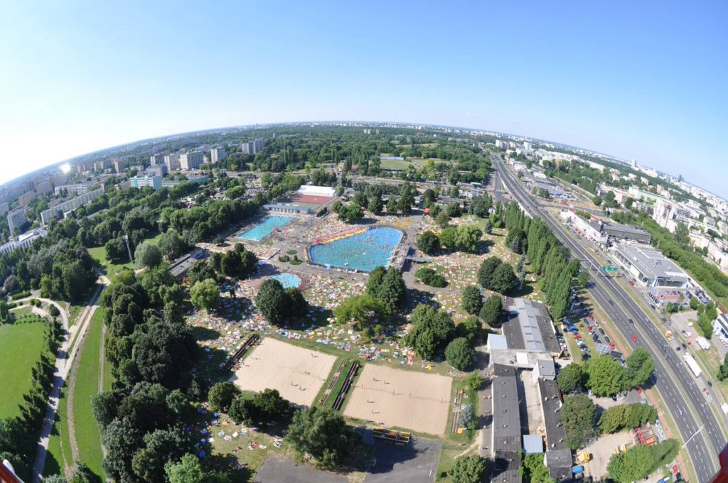 "Аквапарк ""Park Wodny Moczydlo"" в Варшаве"