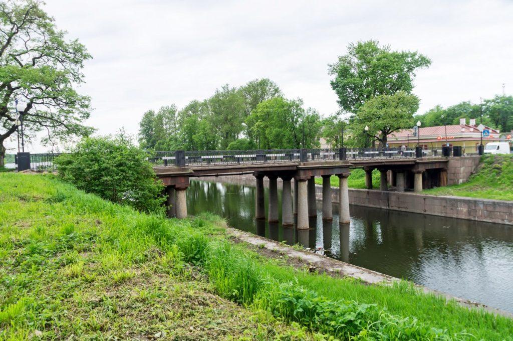 Староладожский канал, Шлиссельбург