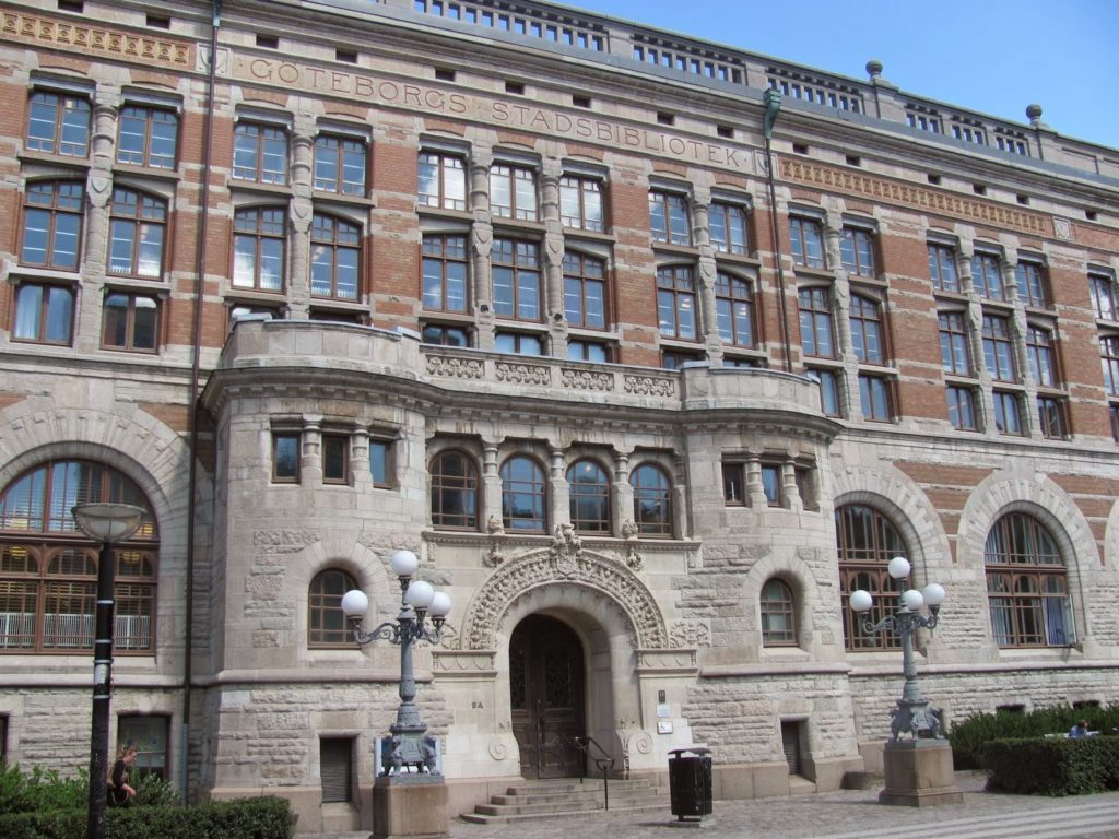 Библиотека Гетеборга