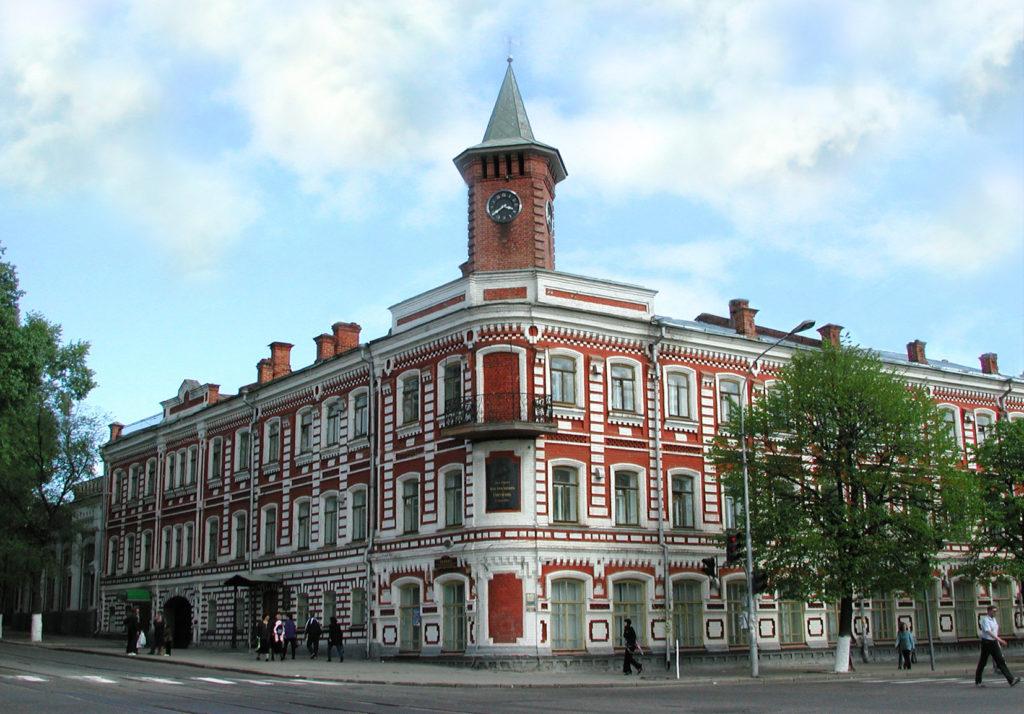 Художественный областной и историко-литературный музей в доме писателя И.А. Гончарова, Ульяновск