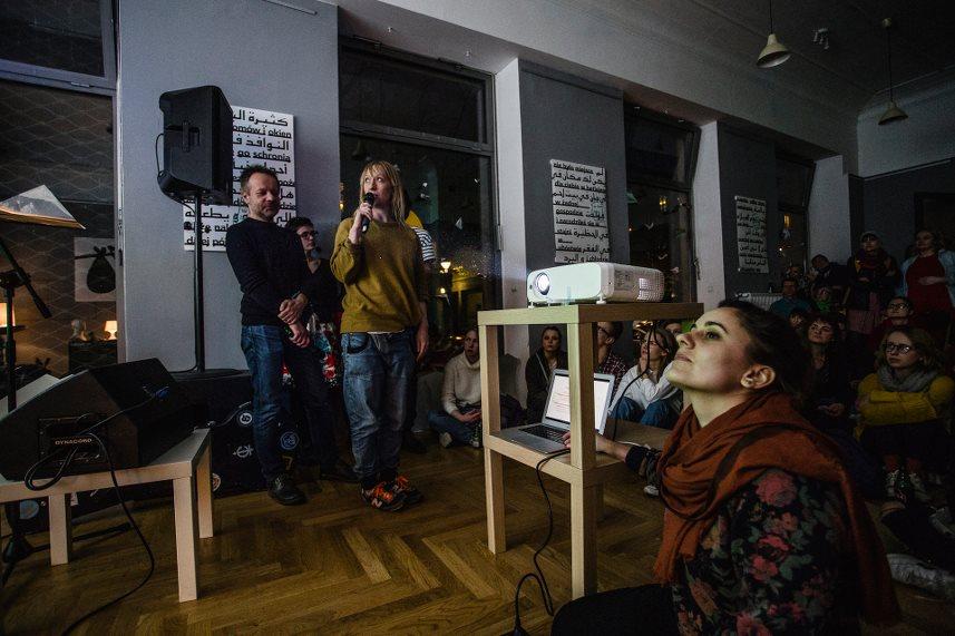 """Творческая лаборатория """"Большой номер"""" (Pracownia Duży Pokój ) в Варшаве"""