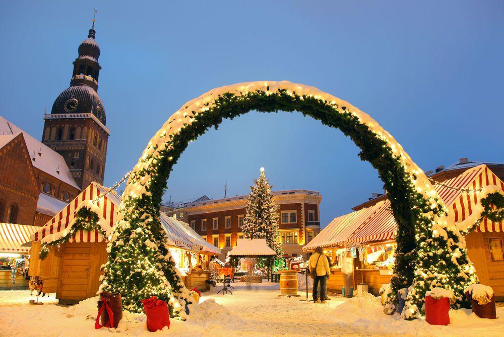 Рождественские ярмарки Риги