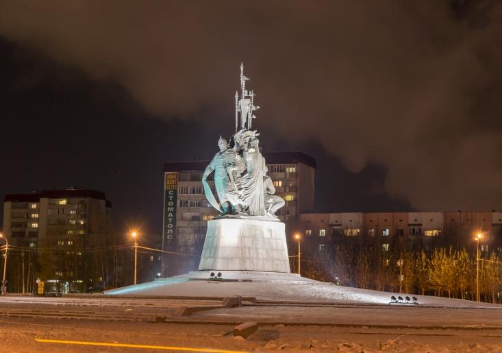 Сургут, Памятник основателям Сургута