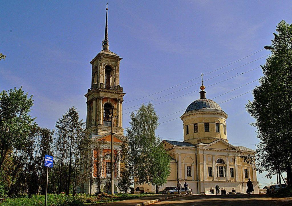 Ильинская церковь в городе Торжок