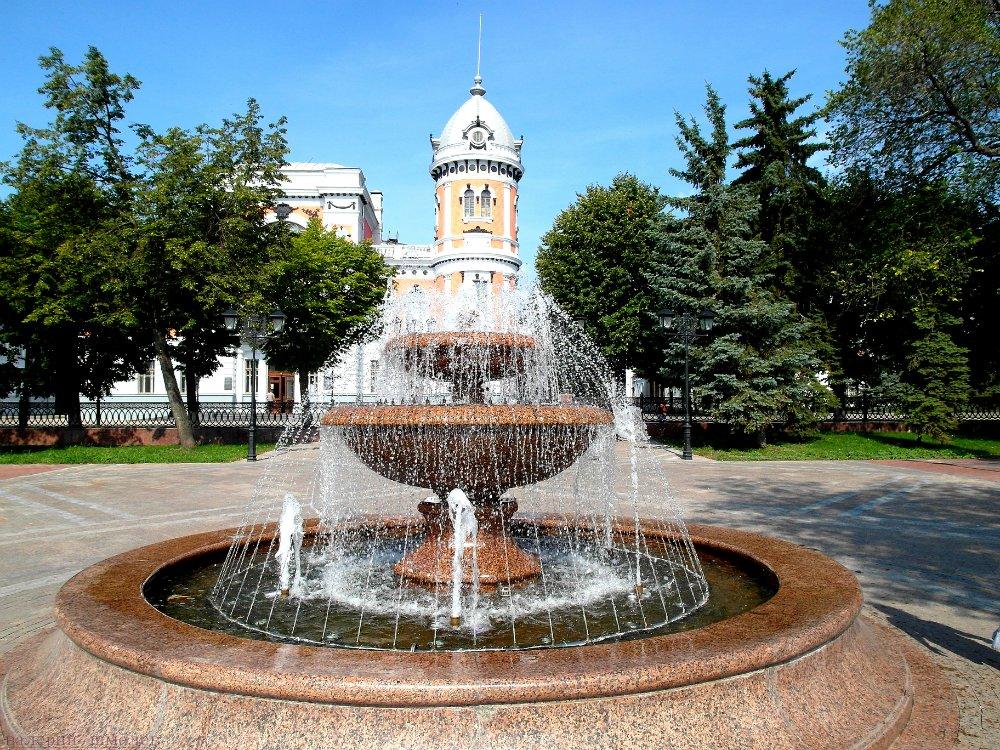 Бульвар Новый Венец в Ульяновске