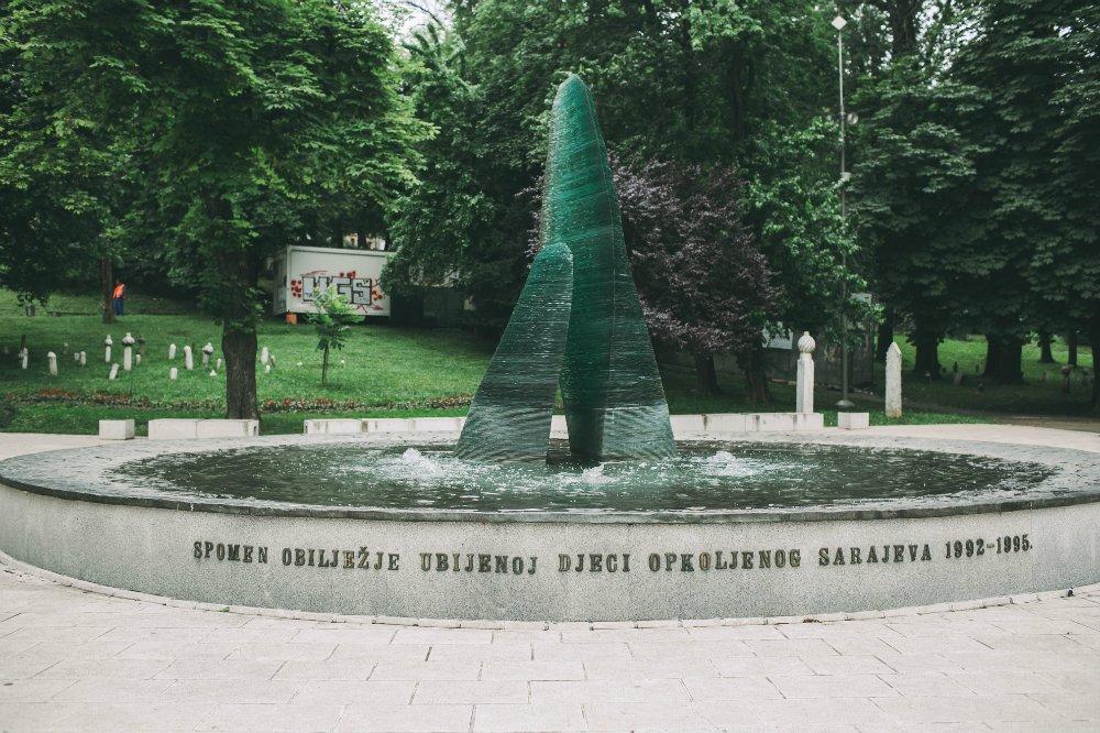 Мемориал погибшим детям в Сараево