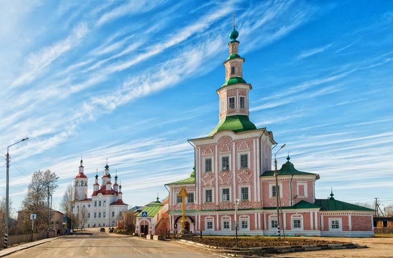 Церковь Рождества Христова в Тотьме