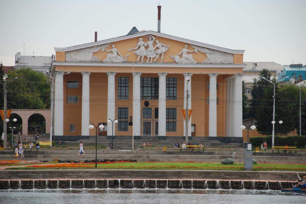 Красная площадь в Чебоксарах