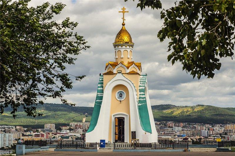 Церковь Александра Невского на Титовской сопке, Чита