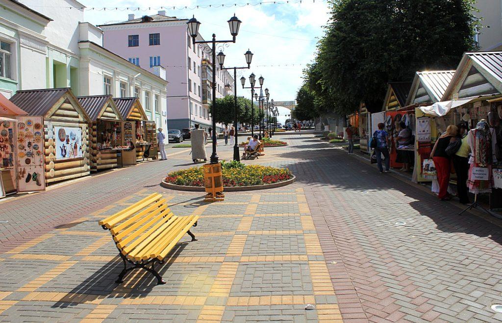 Бульвар Ефремова в Чебоксарах