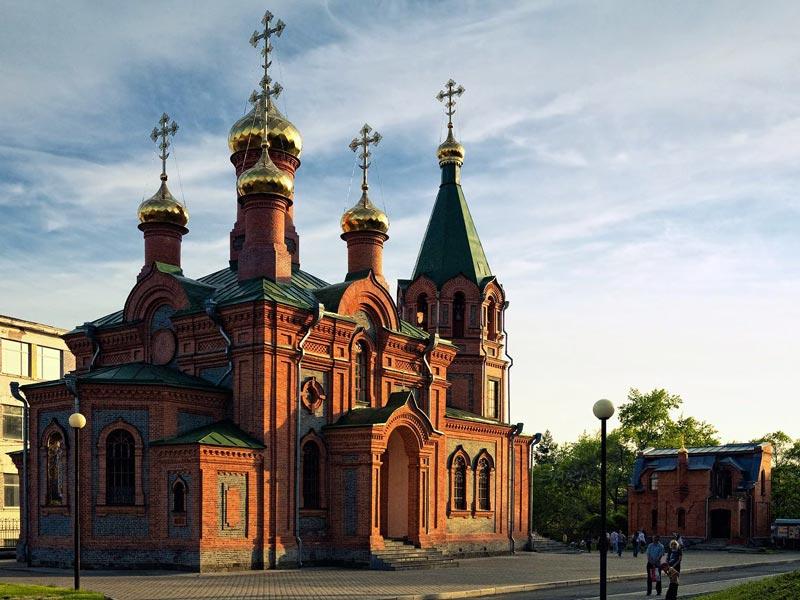 Церковь Иннокентия Иркутского в Хабаровске