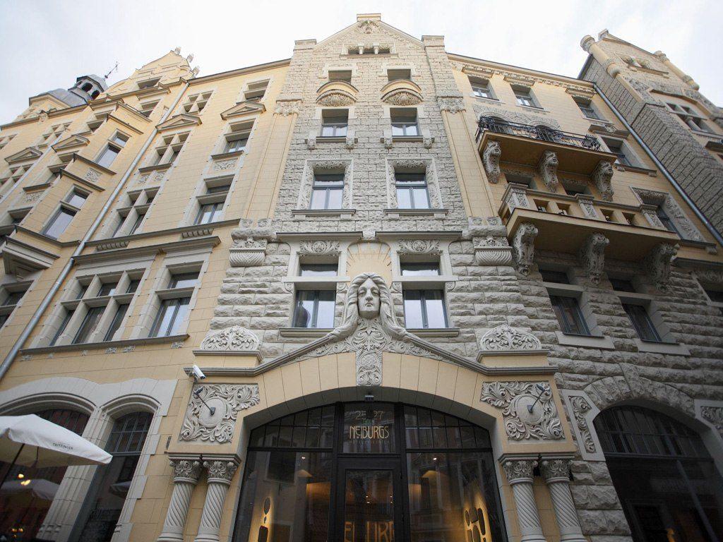 """Отель """"Neiburgs Hotel"""" в Риге"""